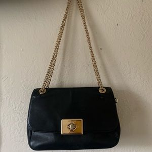 👜COACH Authentic blck w/ chain (OR BEST OFFER)